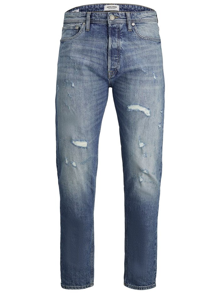 JACK&JONES Cropped Denim blue