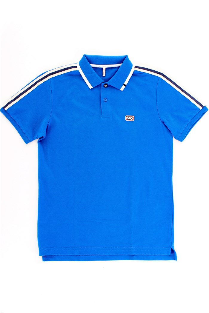 SUN68 Polo shirt Blue