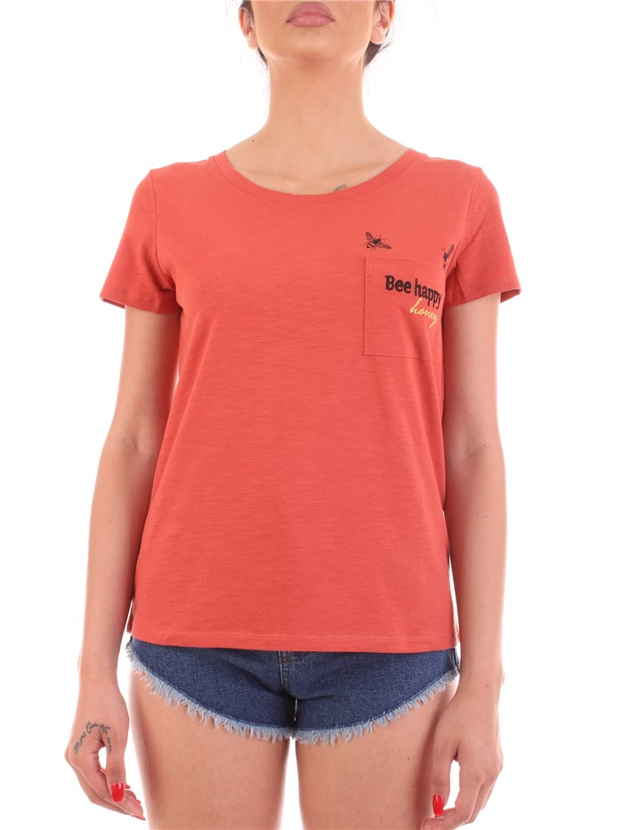 JDY BY ONLY Short sleeve Red