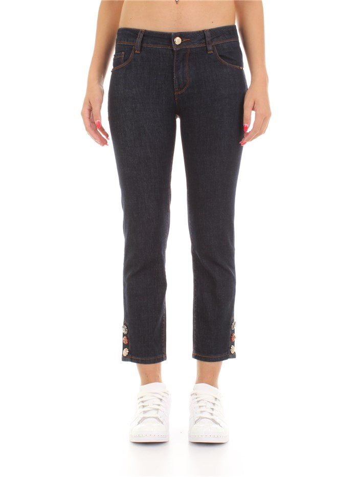 GAUDI' jeans Cropped Dark blue