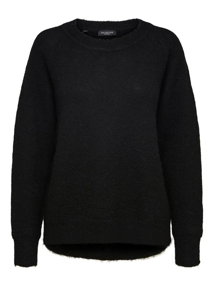 SELECTED Knitted Black
