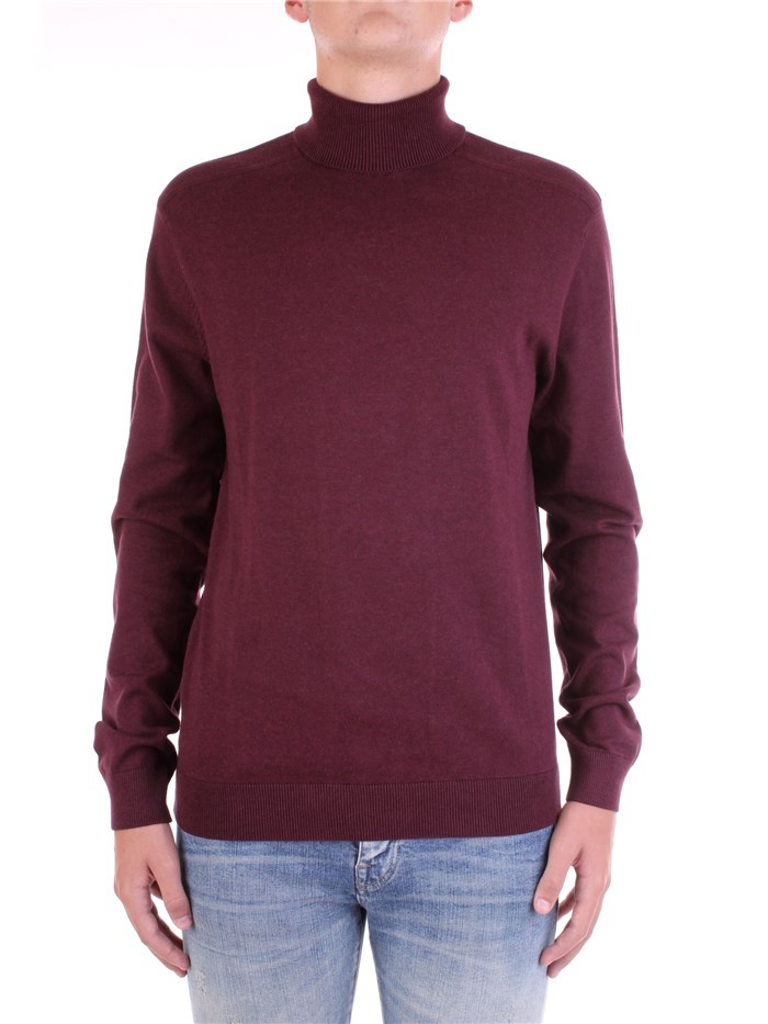 SELECTED Polo neck Bordeau