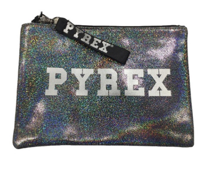 PYREX Clutch Black / silver