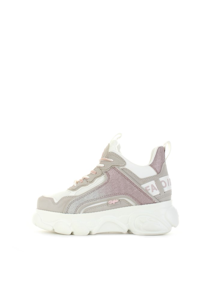 BUFFALO low White / pink