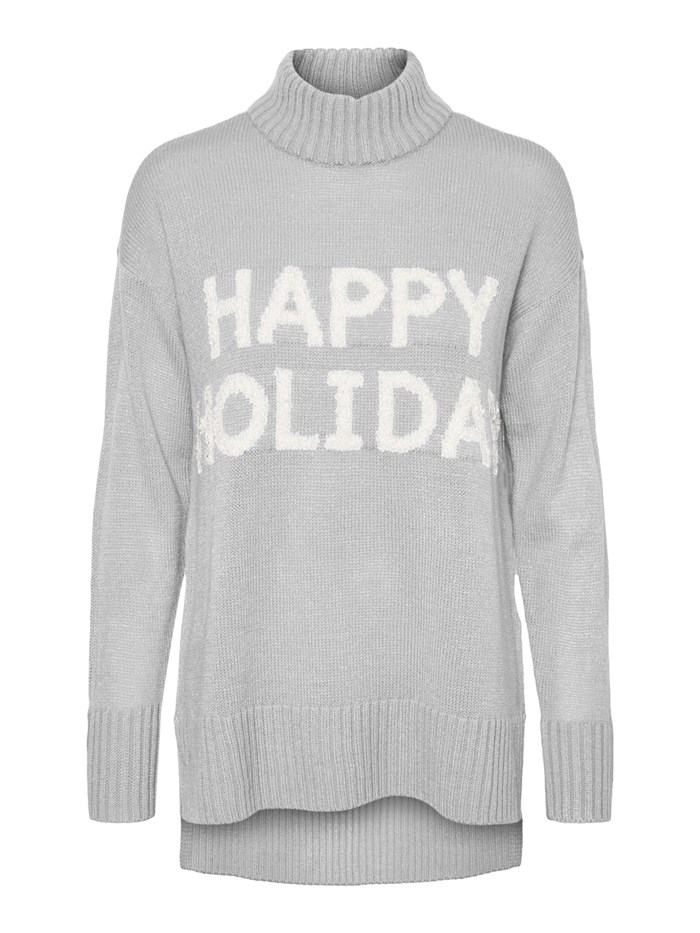 VERO MODA Polo neck Light grey