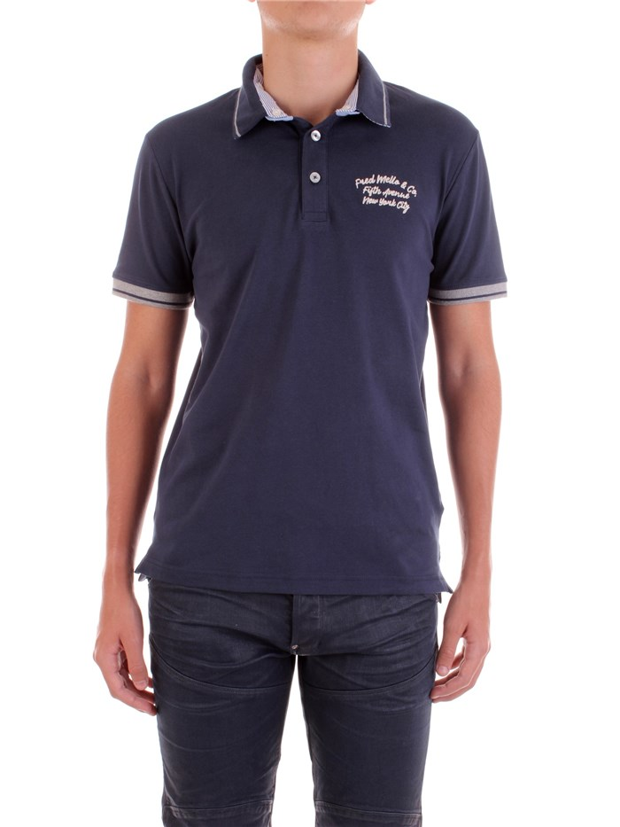 Fred Mello Short sleeves Blue
