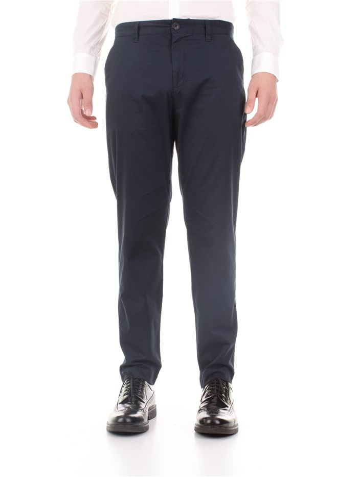 SELECTED Chino Dark blue