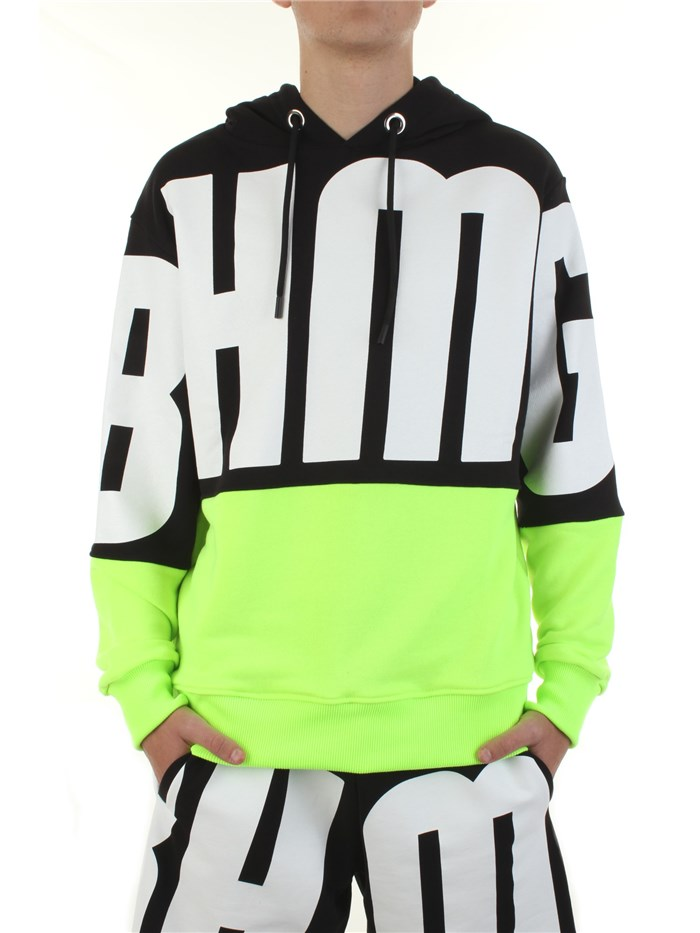 BHMG Hooded Black / fluo yellow