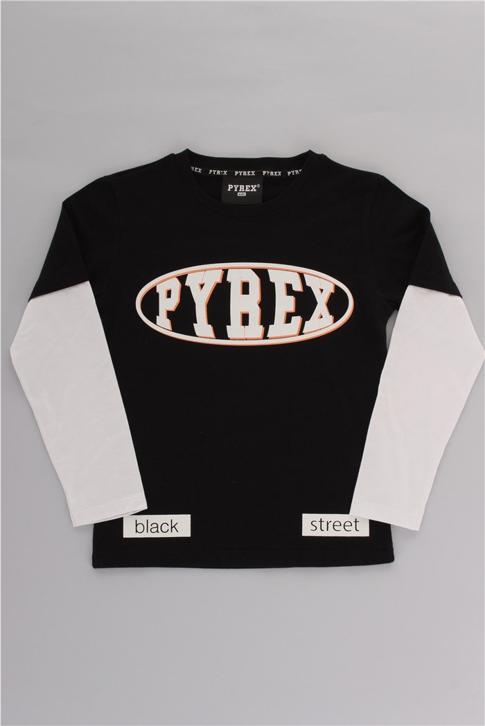 PYREX Long sleeve Black