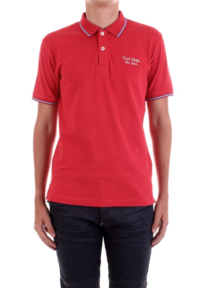 Fred Mello Short sleeves Red