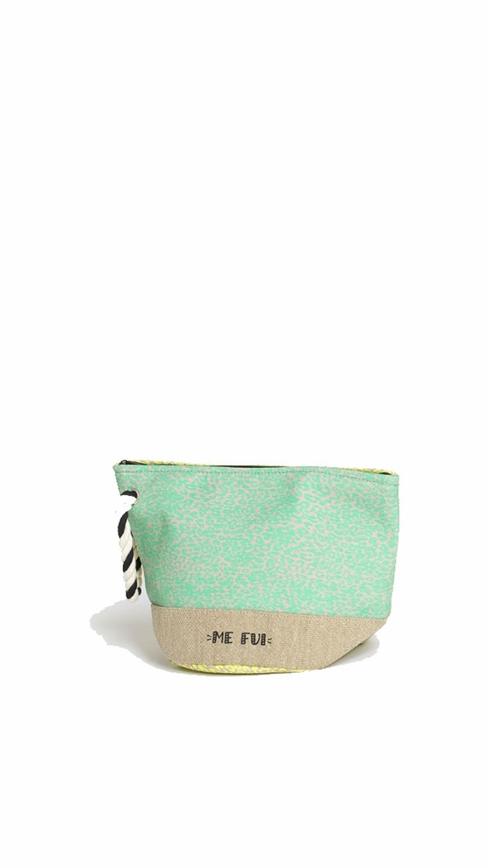 ME FUI Sea bag Corda/giallo/verde acqua