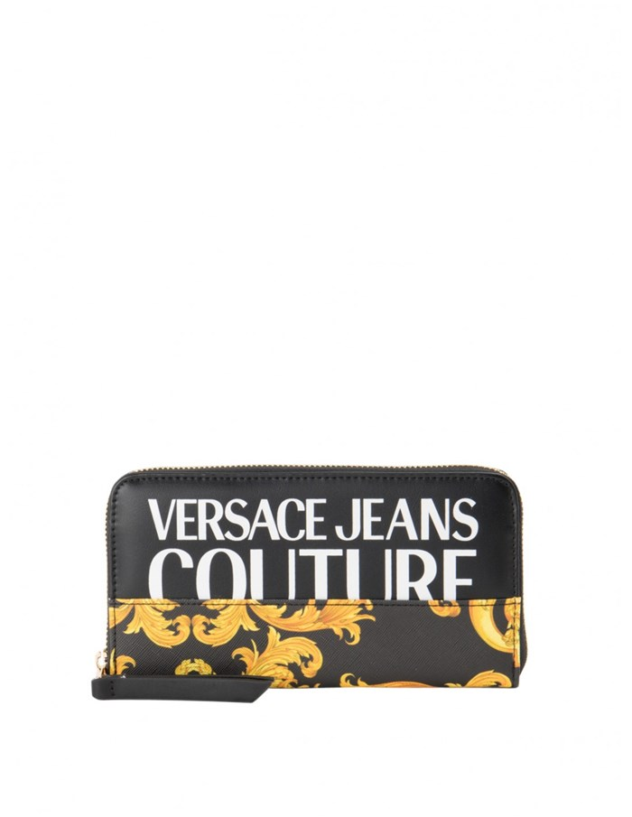 VERSACE Jeans Couture Wallets Black / gold