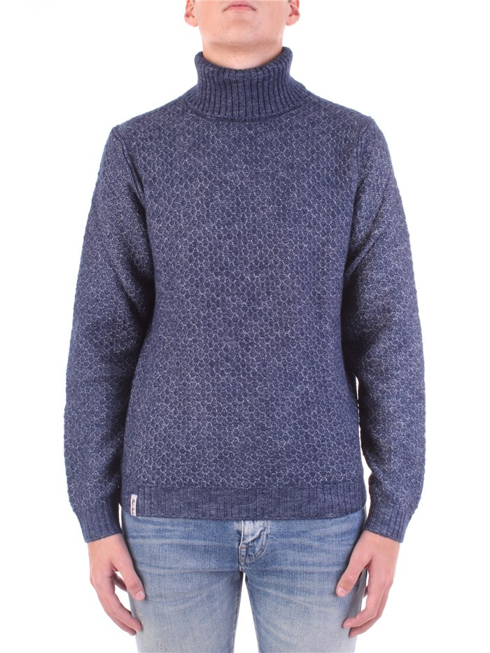 Fred Mello Polo neck Blue
