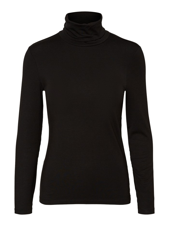 VERO MODA Polo neck Black