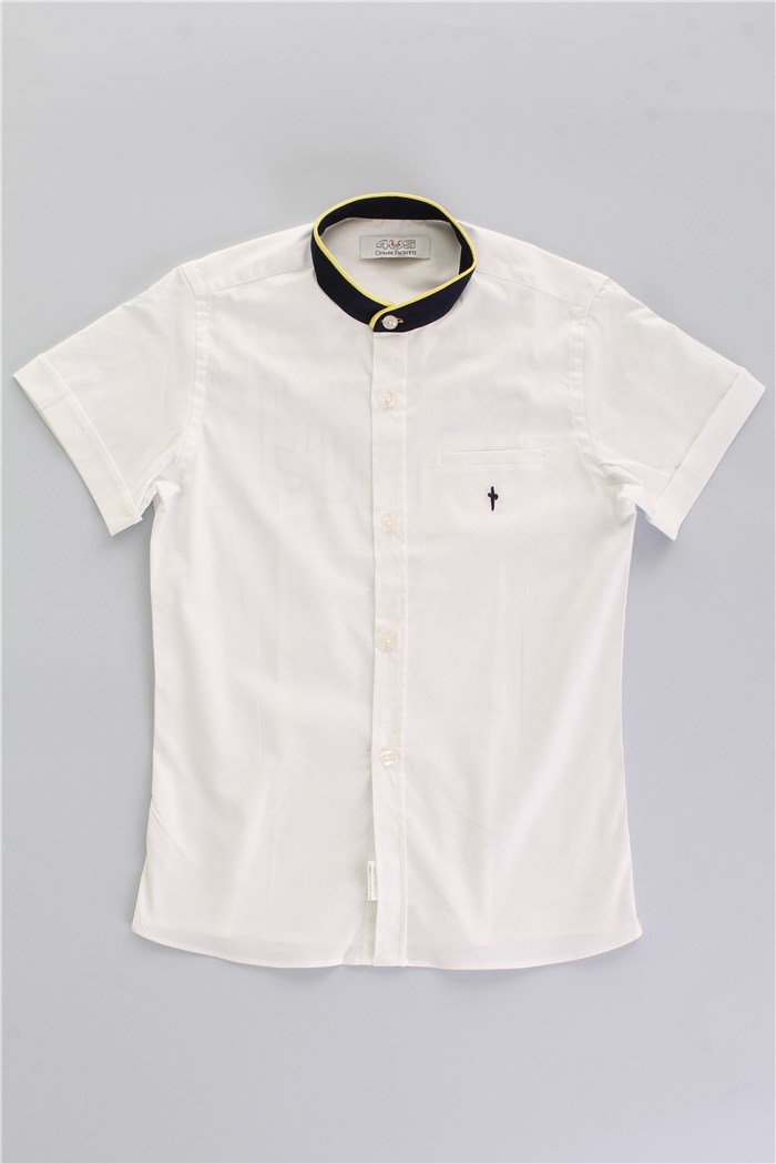 Cesare Paciotti Short sleeve shirts White