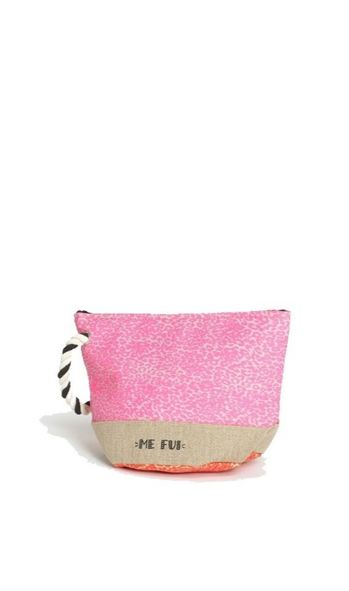 ME FUI Sea bag Corda/arancio/rosa