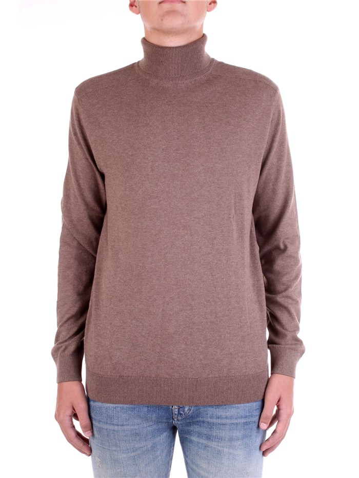 SELECTED Polo neck Brown