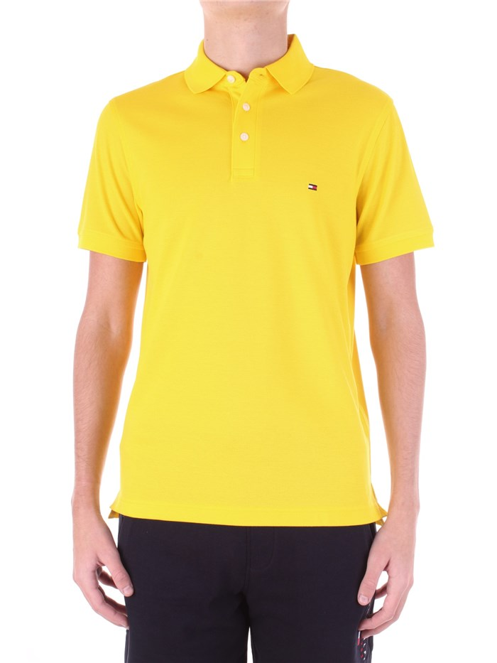 Tommy Hilfiger Short sleeves Giallo acceso