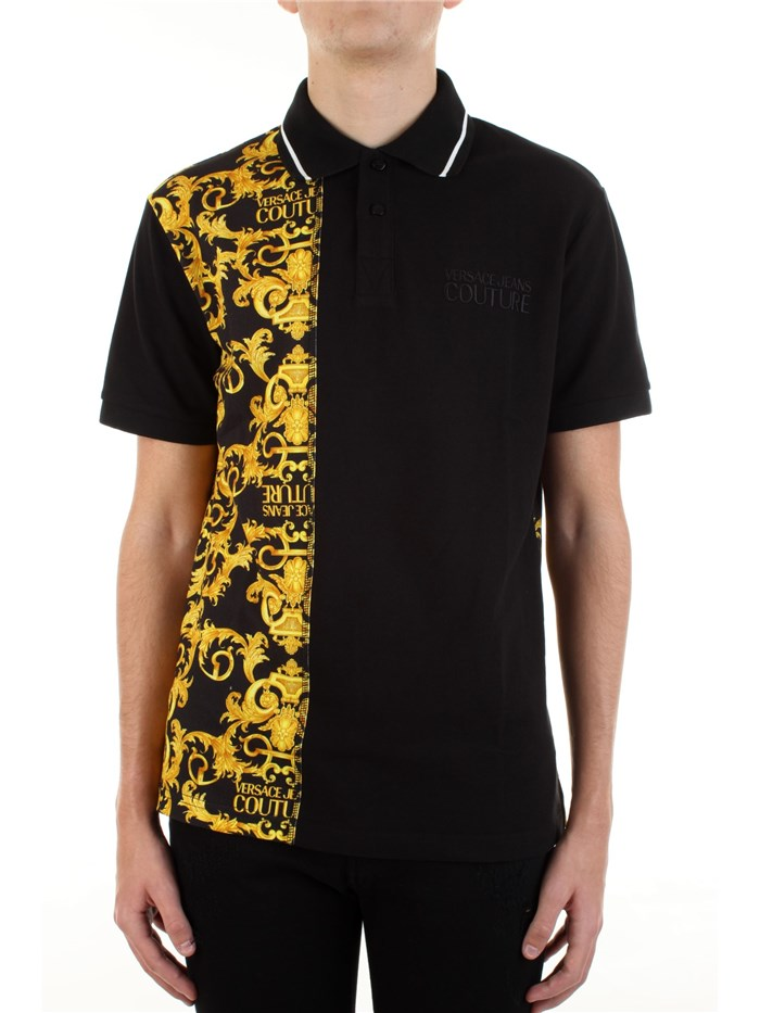 VERSACE Jeans Couture Short sleeves Black