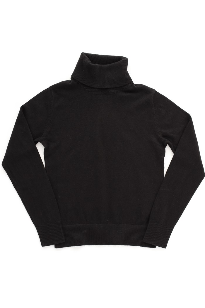 JACK&JONES JUNIOR Polo neck Black