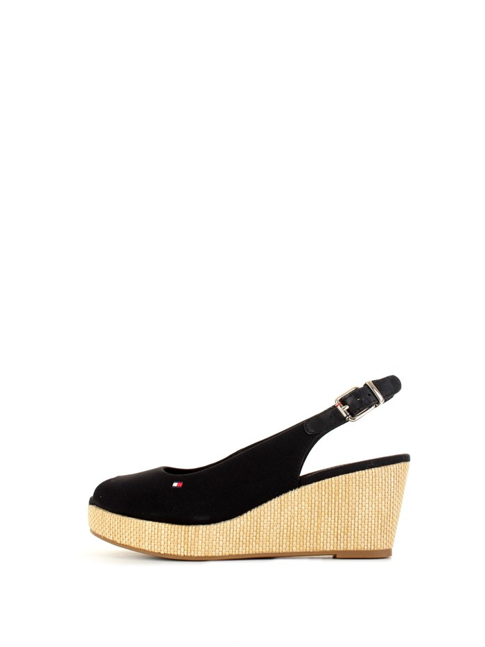 Tommy Hilfiger With wedge Black