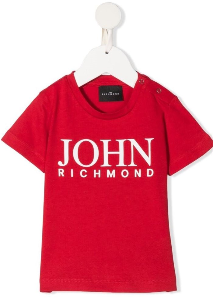 John RICHMOND Short sleeve Red