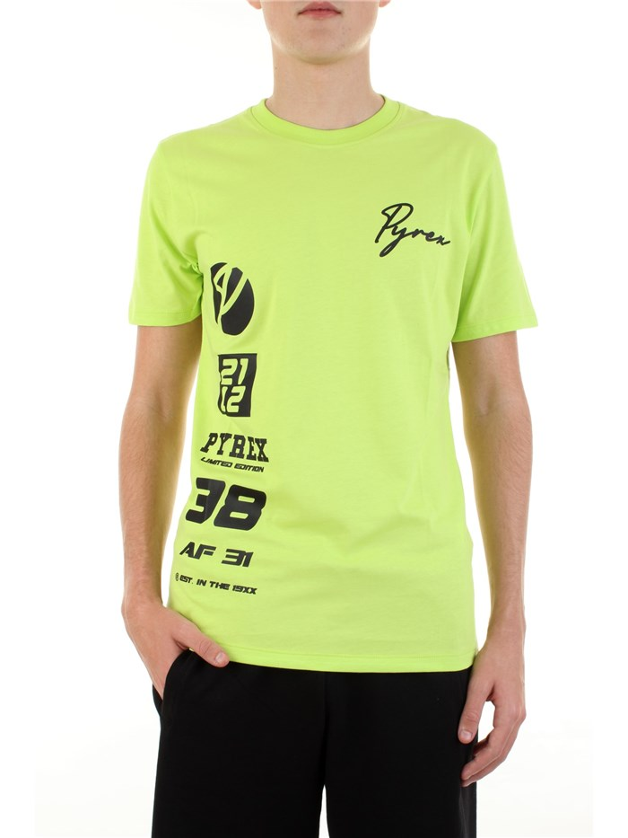 PYREX Short sleeve Fluo yellow
