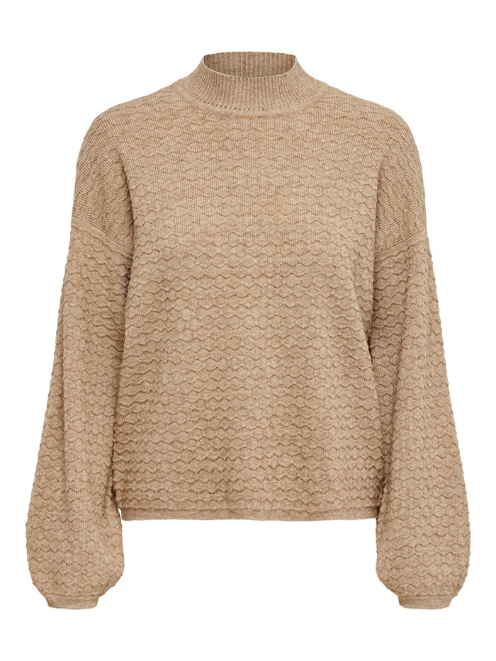 ONLY Polo neck Hazelnut