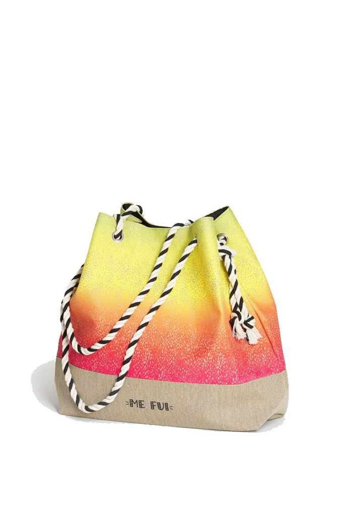 ME FUI Sea bag Corda/fucsia/giallo