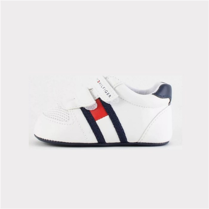 Tommy Hilfiger low White / blue