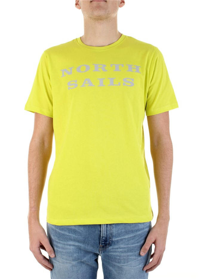 NORTH SAILS Short sleeve Lime
