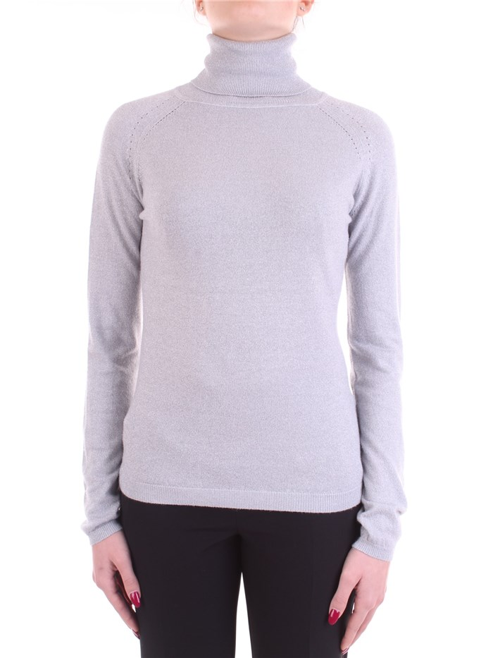 WHITE WISE Polo neck Pearl