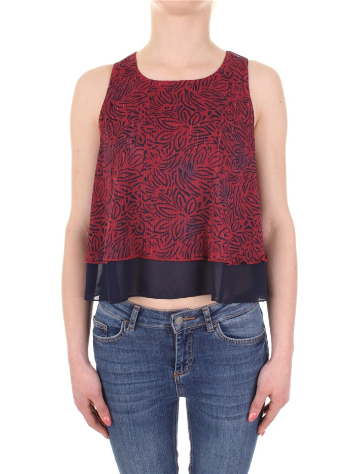 YES-ZEE Sleeveless Red