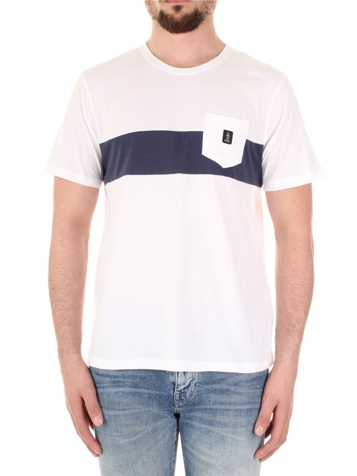 REFRIGUE Short sleeve White / blue