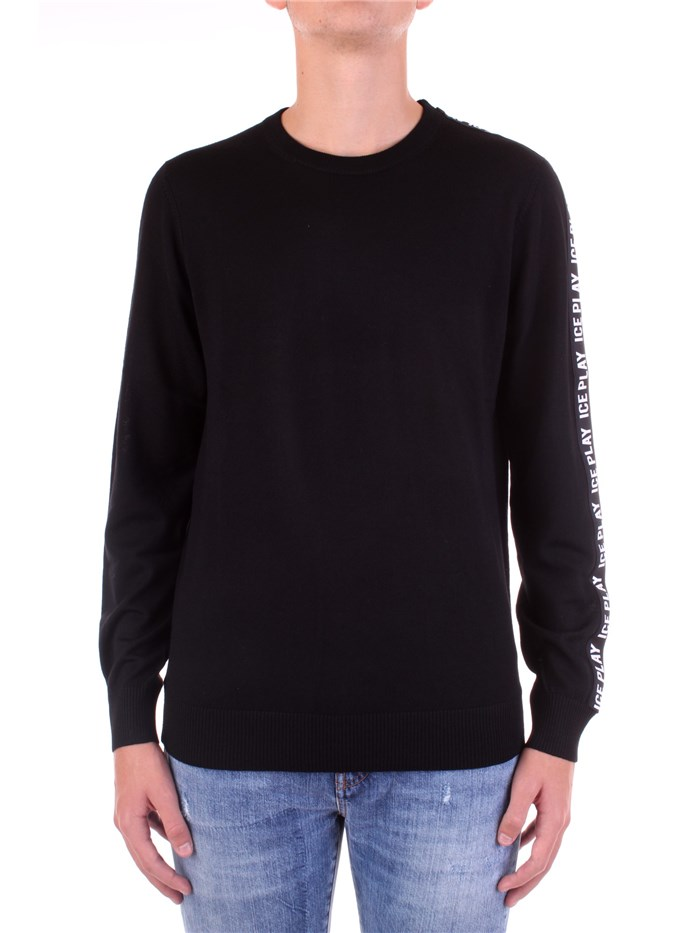 ICE PLAY Knitted Black