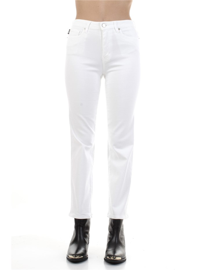MOSCHINO LOVE Five pockets White
