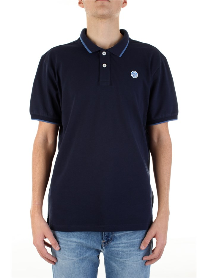 NORTH SAILS Short sleeves Blue