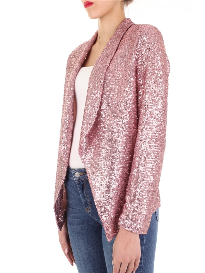 Angela Davis Clothing Woman Blazer Rose EG92P19