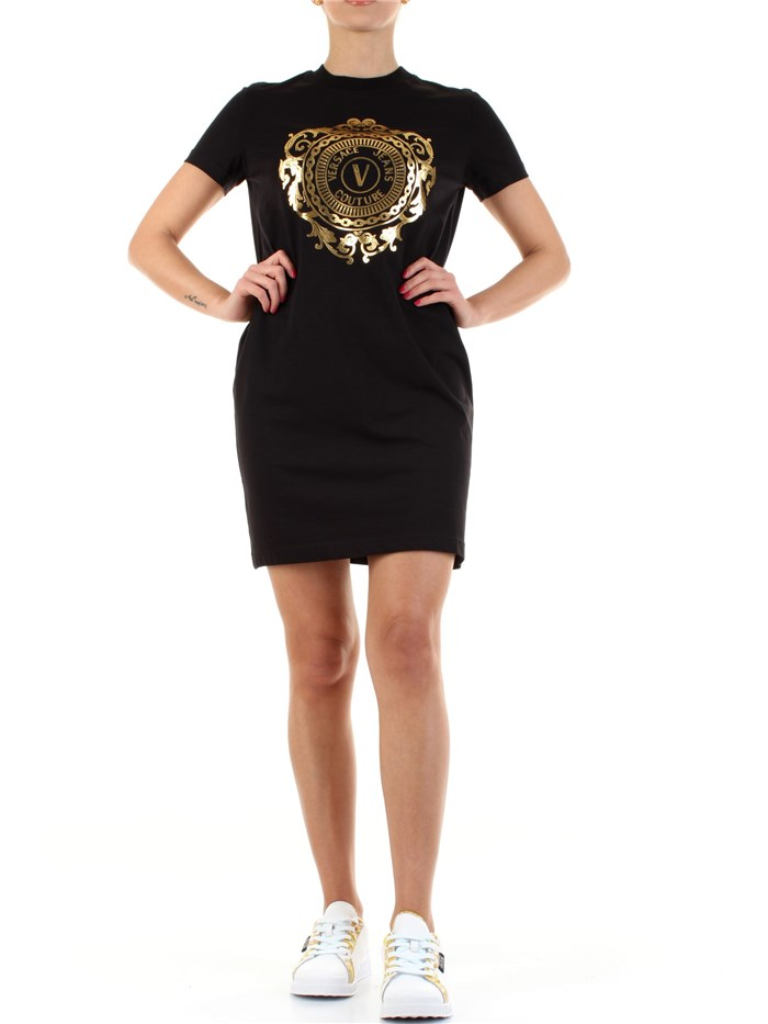 VERSACE Jeans Couture Short Black / gold