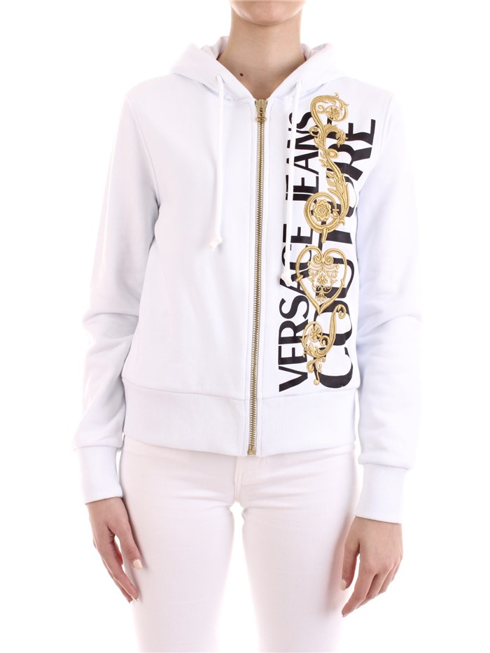 VERSACE Jeans Couture With zip White