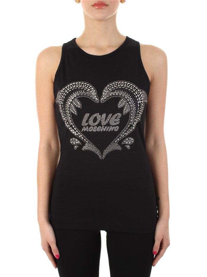 MOSCHINO LOVE Tanks Black