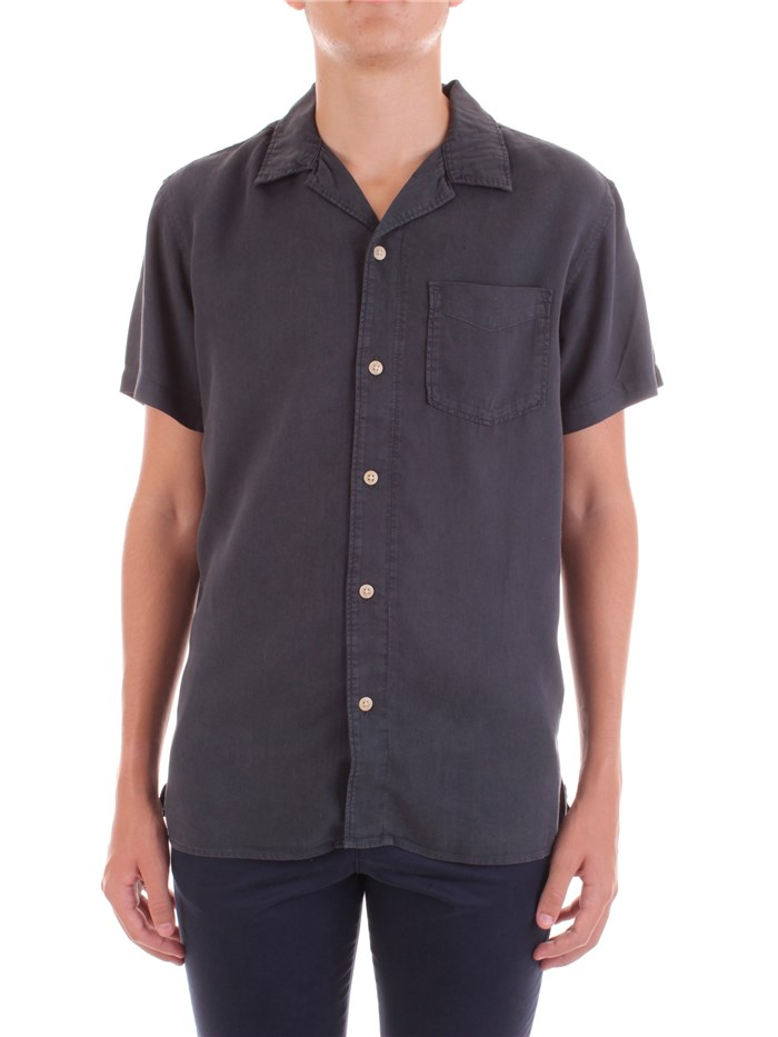 SELECTED Short sleeve shirts Blue