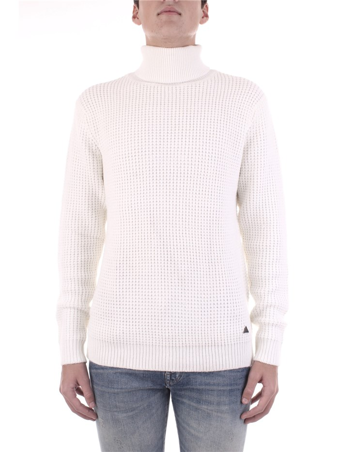 YES-ZEE Polo neck White