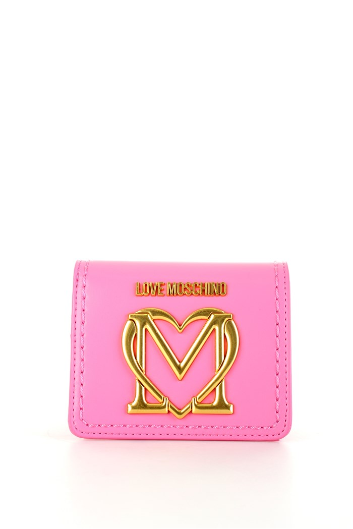 MOSCHINO LOVE Wallets Rosa acceso