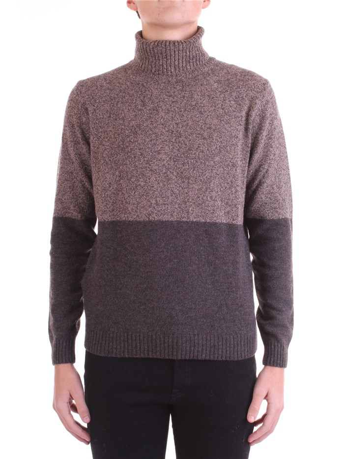 BRAMANTE Polo neck Brown