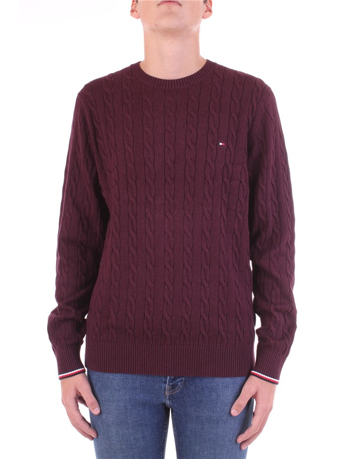 Tommy Hilfiger Knitted Bordeau