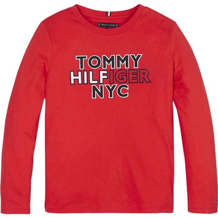 Tommy Hilfiger Long sleeve Red
