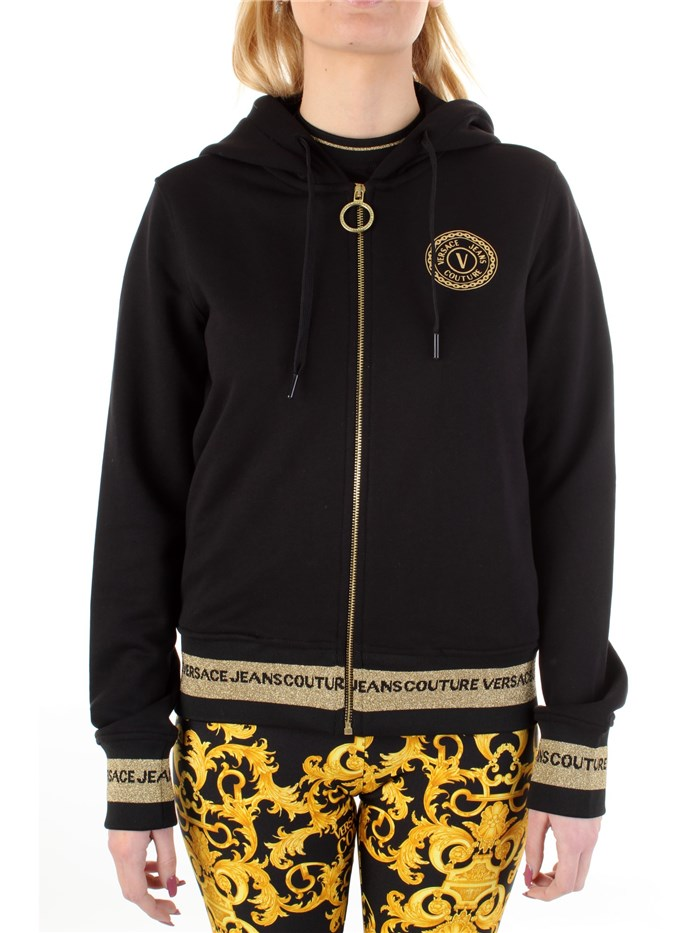 VERSACE Jeans Couture With zip Black / gold