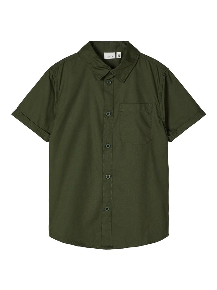 NAME IT Short sleeve shirts Green