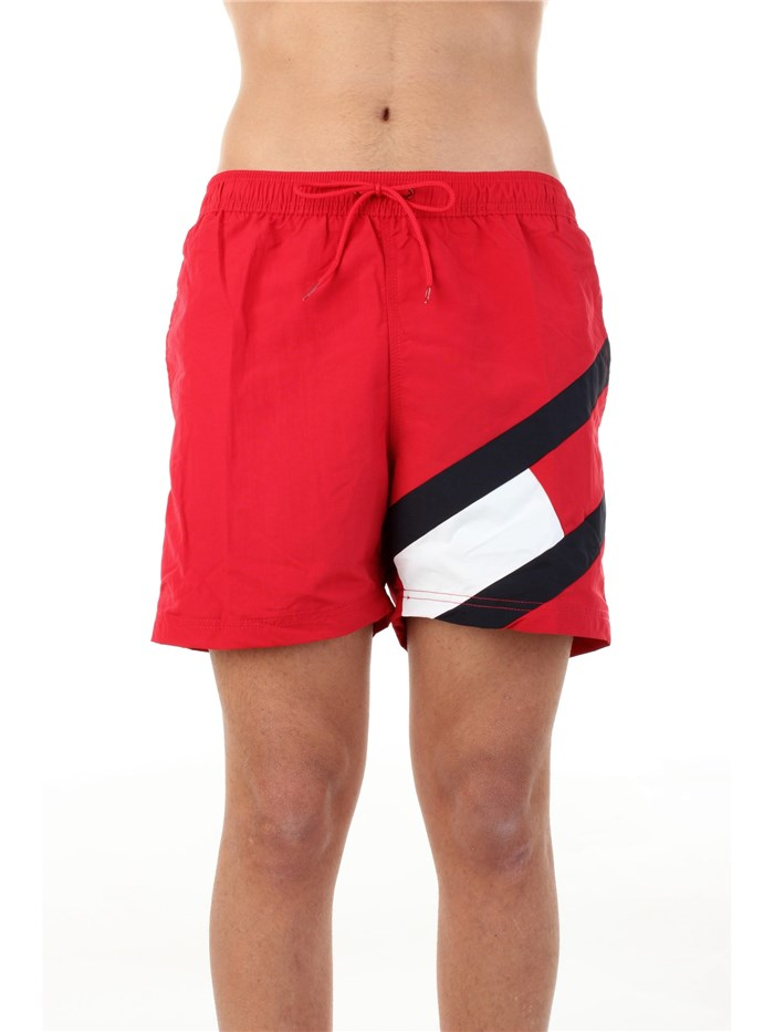 Tommy Hilfiger beachwear Sea shorts Red